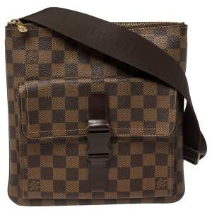 Louis Vuitton Damier Ebene Canvas Melville Bag