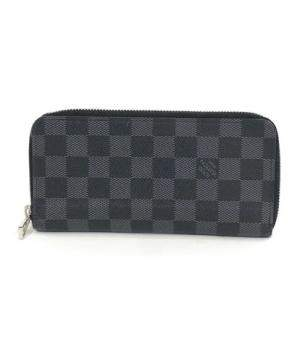 Louis Vuitton Damier Grafitte Canvas Zip Around Wallet