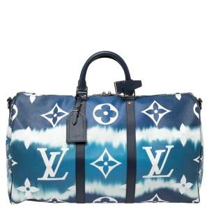 Louis Vuitton Monogram Escale Keepall Bandoulière 50 Bag