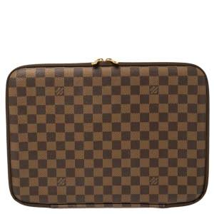 Louis Vuitton Damier Ebene Canvas Horizon Laptop Sleeve