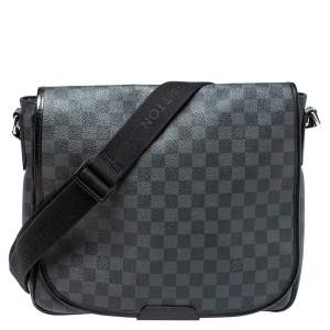 Louis Vuitton Damier Graphite Canvas Daniel MM Messenger Bag