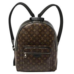 Louis Vuitton Monogram Macassar Canvas and Leather Josh Backpack