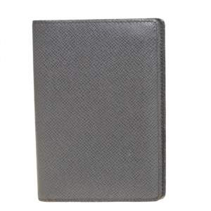 Louis Vuitton Glacier Taiga Leather Passport Holder