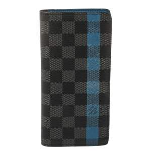 Louis Vuitton Damier Graphite Canvas Brazza Wallet