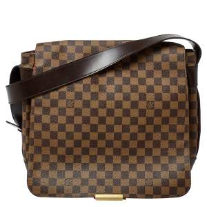 Louis Vuitton Damier Ebene Canvas Bastille Messenger Bag