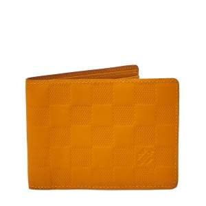 Louis Vuitton Solar Damier Infini Leather Multiple Wallet