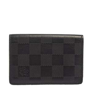 Louis Vuitton Navy Damier Infini Leather Pocket Organiser