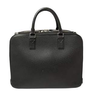Louis Vuitton Black Taiga Leather Neo Igor Briefcase
