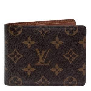 Louis Vuitton Monogram Canvas Multiple Wallet