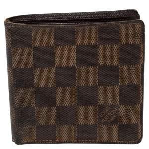 Louis Vuitton Damier Ebene Coated Canvas Bifold Wallet