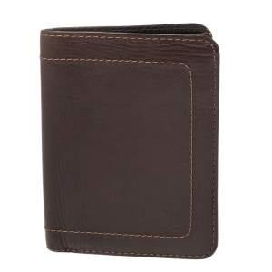 Louis Vuitton Dark Brown Utah Leather Bifold Wallet