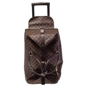 Louis Vuitton Damier Ebene Canvas Eole 50 Rolling Luggage
