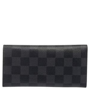 Louis Vuitton Damier Graphite Canvas Long Bifold Wallet