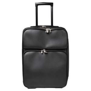 Louis Vuitton Black Taiga Leather Pegase Legere 55 Business Suitcase