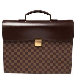Louis Vuitton Damier Ebene Canvas Altona GM Briefcase