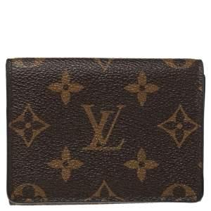Louis Vuitton Monogram Canvas Enveloppe Carte de Visite Card Holder