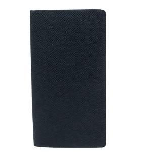 Louis Vuitton Navy Blue Taiga Leather Long Wallet