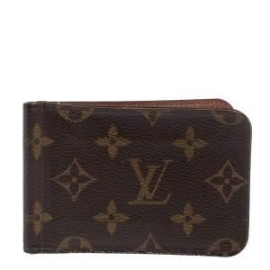 Louis Vuitton Monogram Canvas Pince Wallet