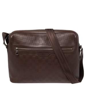 Louis Vuitton Brown Damier Infini Calypso Messenger GM Bag