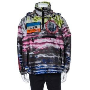 Louis Vuitton Multicolor Plain Rainbow Graphic Windbreaker M
