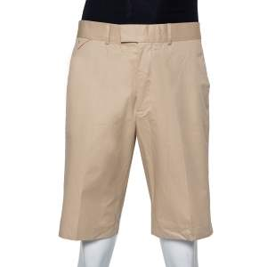 Louis Vuitton Beige Cotton Knee Length Shorts XXL