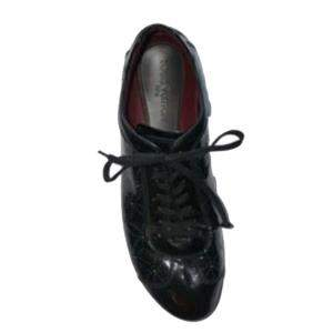 Louis Vuitton Black Patent Leather Explorer Sneakers Size 42