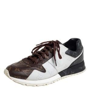 Louis Vuitton Tricolor Monogram Run Away Sneakers Size 41