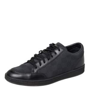حذاء رياضي لوي فيتون أوفشور جلد وقماش داميير بعنق منخفض مقاس 40