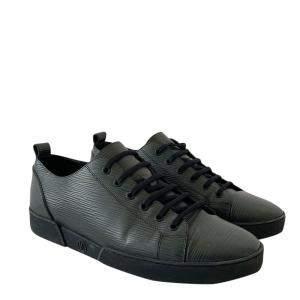 Louis Vuitton Dark Blue Epi Leather Low Top Lace Up Sneakers Size US 9 EU 43