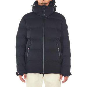 """Moncler Black Quilted Down Jacket """"Montgetech"""" Size FR 2"""