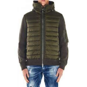 Moncler Multicolor Down Cardigan Jacket Size XL