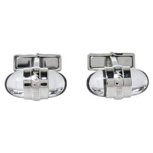 Montblanc Silver Tone Floating Stars Urban Walker Cufflinks
