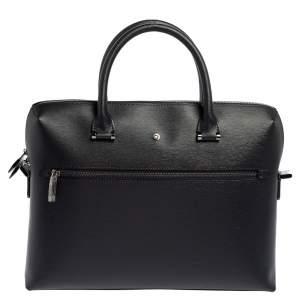 Montblanc Black Leather 4810 Westside Slim Document Case