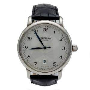 Montblanc Silver Dial Star Legacy Steel Automatic Men's Watch 42 MM