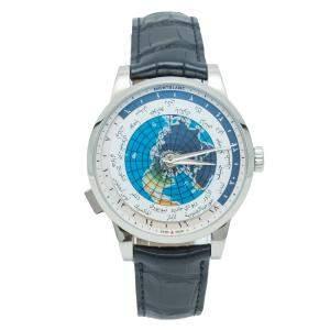 Montblanc Heritage Spirit Arabic UNICEF World-Time Steel Automatic Men's Watch 41 MM