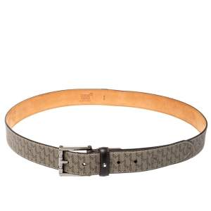 Montblanc Signature Coated Canvas Belt 100CM