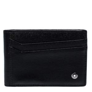 Montblanc Black Leather Card Holder 8CC