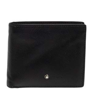 Montblanc Black Sartorial Leather Bifold Wallet