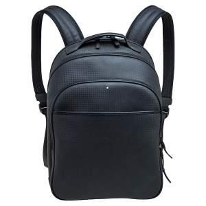 Montblanc Black Leather Large Extreme Backpack