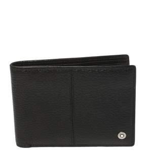 Montblanc Black Leather Bifold Wallet