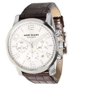 Montblanc White Stainless Steel 9671 Men's Wristwatch 43 MM