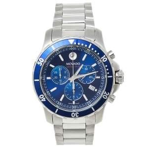 ساعة يد رجالية موفادو أم أوه.14.1.27.1425.1127.10/3 كرونوغراف مسلسل 800 ستانلس ستيل أزرق 42 مم