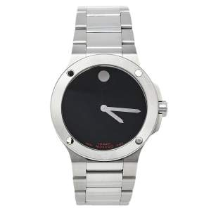 Movado Black Stainless Steel SE Extreme 12.1.14.1053 Automatic Men's Wristwatch 44 mm