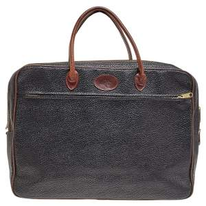 Mulberry Black Leather Laptop Bag