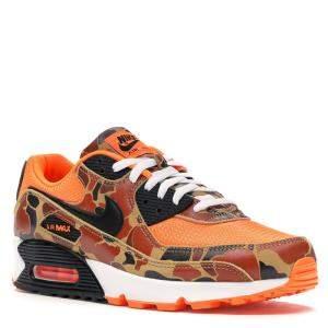 Nike Airmax 90 Duck Camo Orange Sneakers Size 44