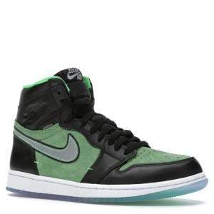 حذاء رياضي نايك جوردان 1 زوم زين أخضر مقاس 42