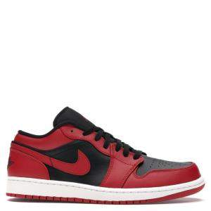 Nike Jordan 1 Low Reverse Bred Sneakers Size 38.5