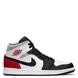 Nike Jordan 1 Mid Union Red Sneakers Size 43