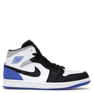 Nike Jordan 1 Mid Union Blue Sneakers Size 43