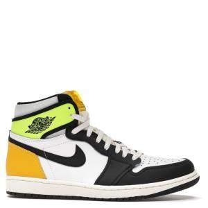Nike Jordan 1 Volt Gold Sneakers US 10 EU 44